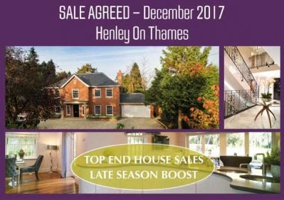 House sale agreed in Henley on Thames