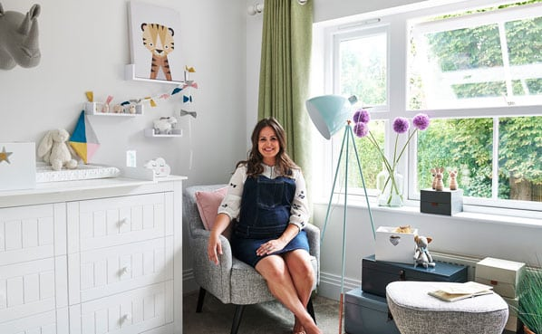 nursery, decoration, Giovanna-fletcher, interior design, nursing chair