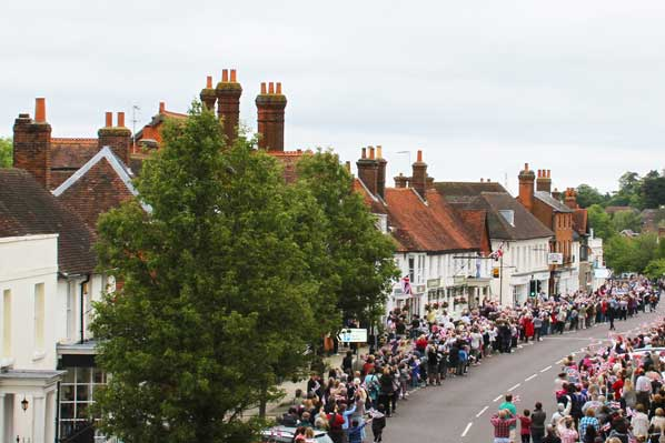 Odiham High Street View
