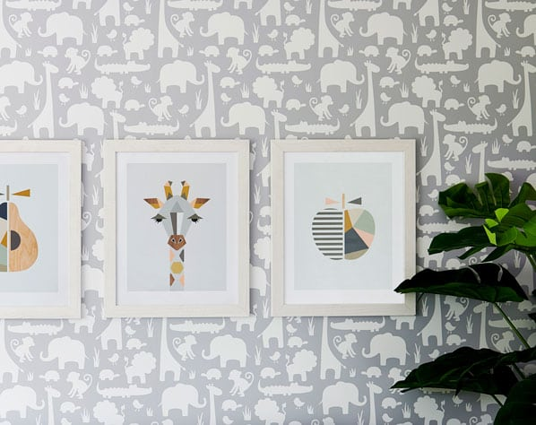 nursery, decoration, Giovanna-fletcher, interior design, retro-prints