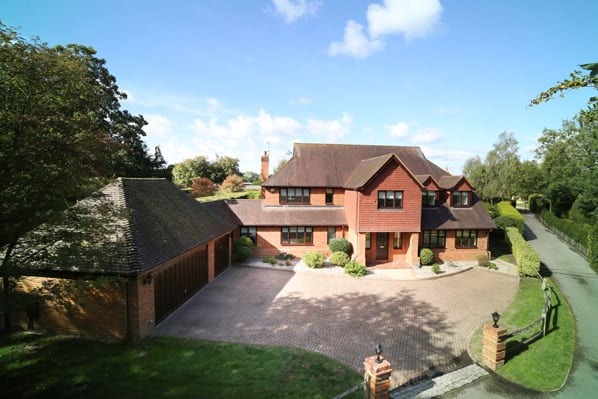 property for sale in Mattingley Hampshire