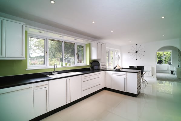 luxury Kitchen of property for sale in Mattingley Hampshire