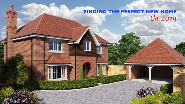 cgi image of proposed new homes at Shapley Grange Hartley Wintney
