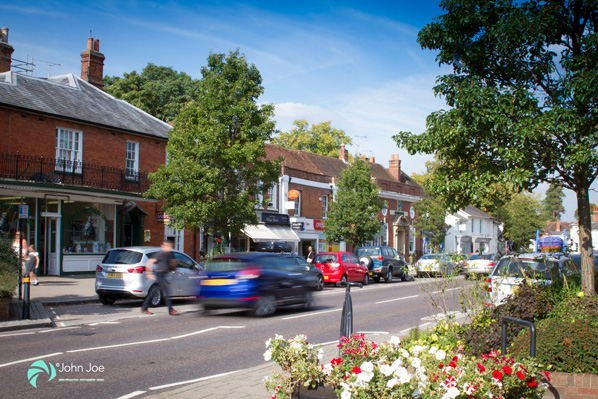High Street in Hartley Wintney photo copyright John Joe Photography