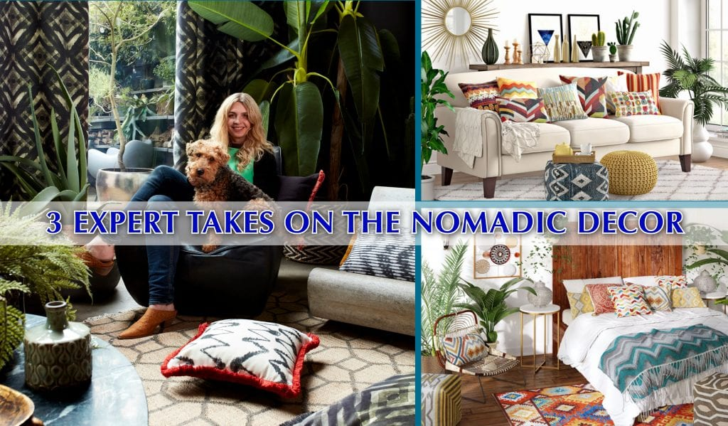 Interior design nomadic lifestyle