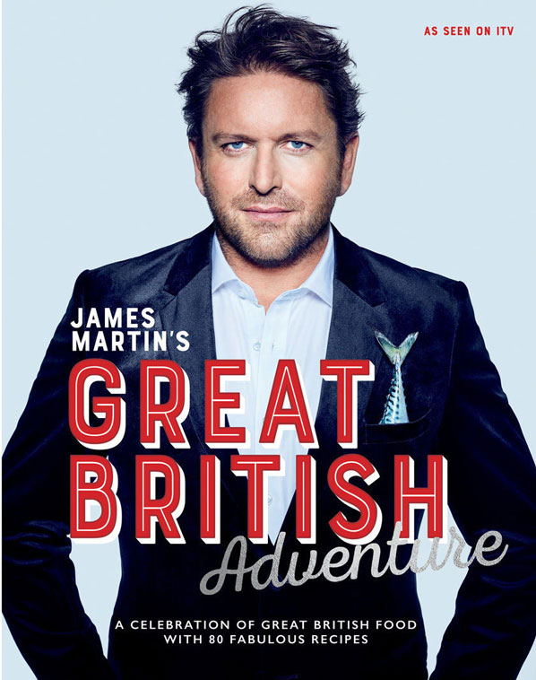 James Martin Great British Adventure and food