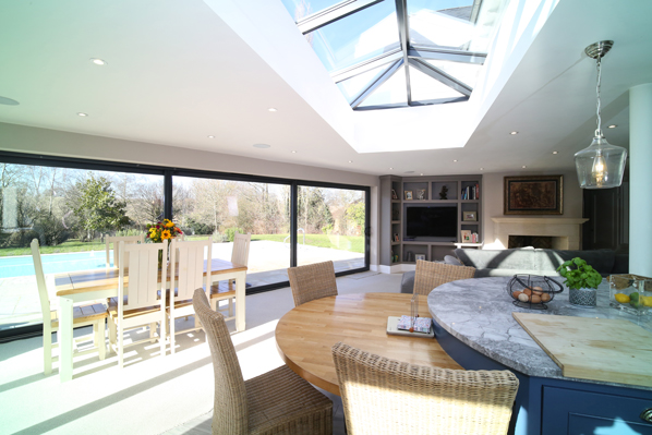 luxury kitchen by Evie Willow property for sale