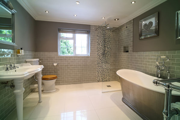 Luxury bathroom property for sale Fleet Hampshire McCarthy Holden estate agents