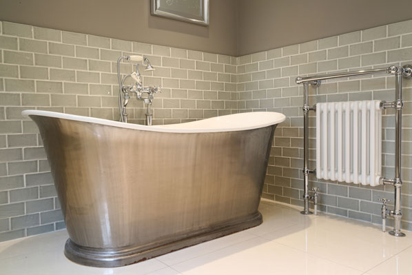 Luxury bathroom Catchpole and Rye bath tub property for sale Fleet Hampshire McCarthy Holden estate agents