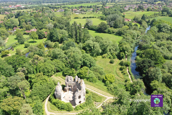 king john's castle Odiham Hampshire McCarthy Holden estate agents