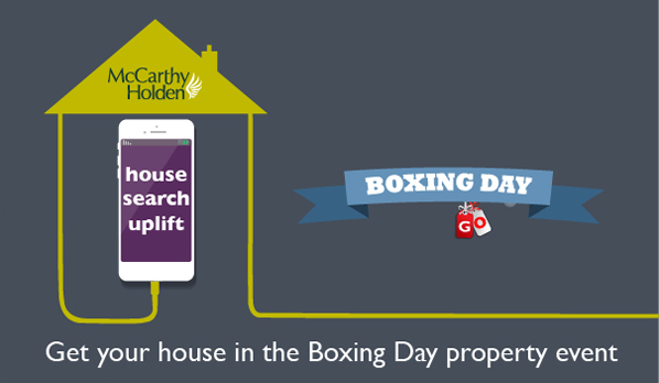 Boxing Day property event McCarthy Holden estate agents