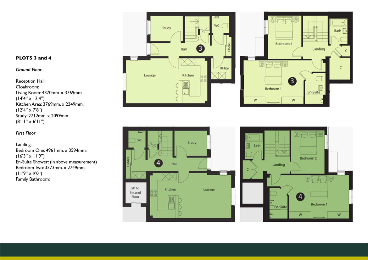 Connaught Lodge PLOTS 3 AND 4 FLOOR PLAN