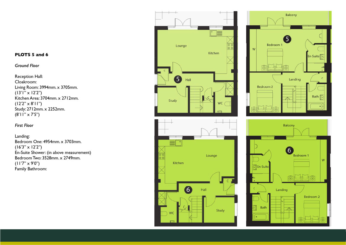Connaught Lodge PLOTS 5 AND 6 FLOOR PLAN