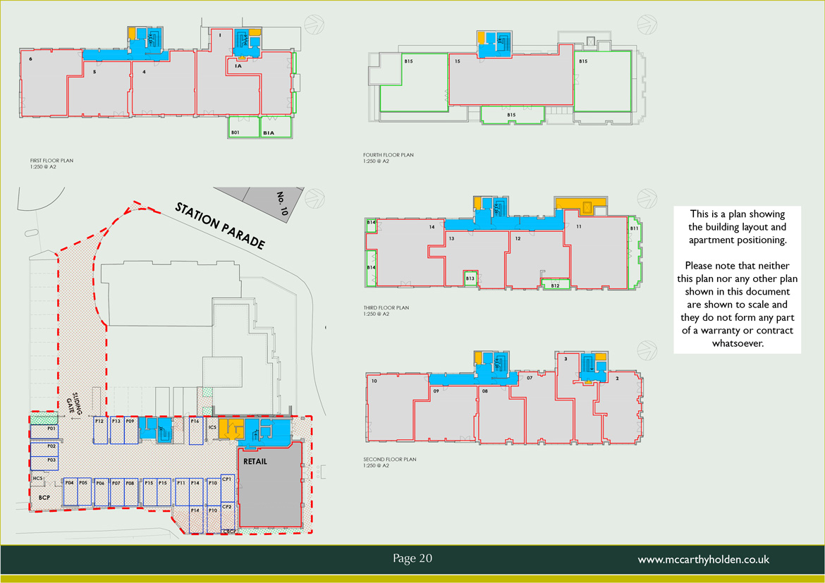 HANNOVER HOUSE SITE PLAN