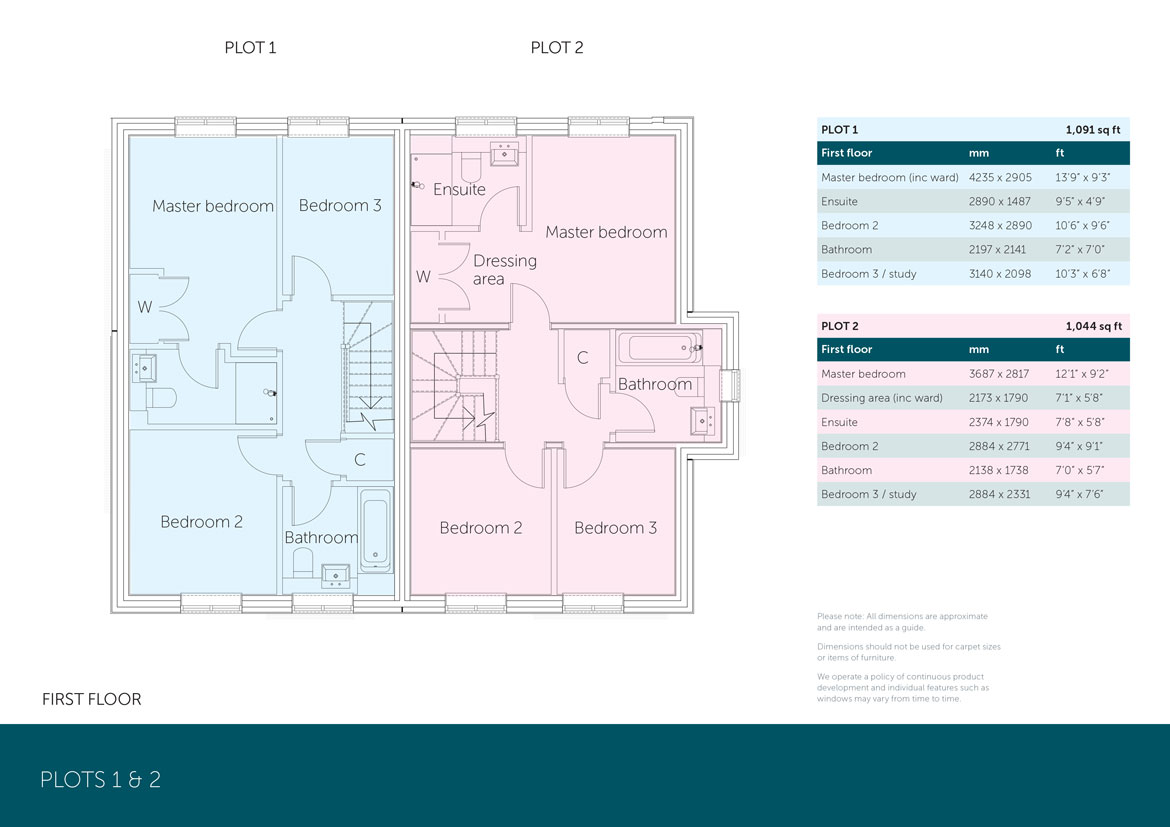 Plots 1 and 2 First Floor Acorn Hook McCarthy Holden estate agents