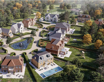 THE BRACKENS NEW HOMES FOR SALE FRIMLEY GREEN
