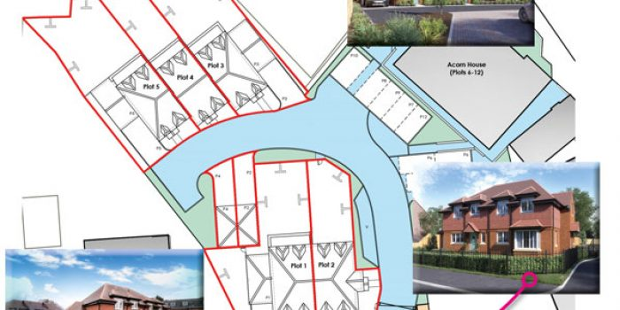 NEW HOUSE FOR SALE MCCARTHY HOLDEN ESTATE AGENTS SITE PLAN HOOK